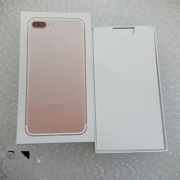 Sans accessoires Boîte de téléphone Version US / EU Vide Emballage de téléphone Vide Case Case pour iPhone 7 7 plus