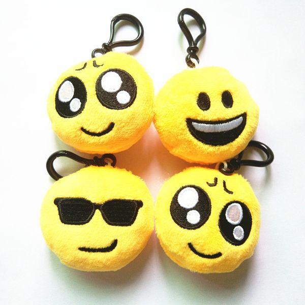top popular Kawaii Rare Squishy Jumbo Squishys Toys Steamed QQ Expression Squishies Straps Pendant keychains Phone Charm Dolls 2020