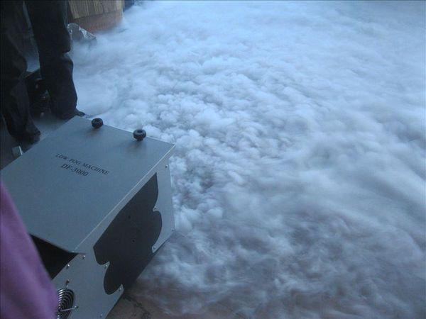 best selling Hot sale 3000W outdoor Low Fog Machines 3000W Low Lying Ground Fog Machine wedding show smoke machine LLFA