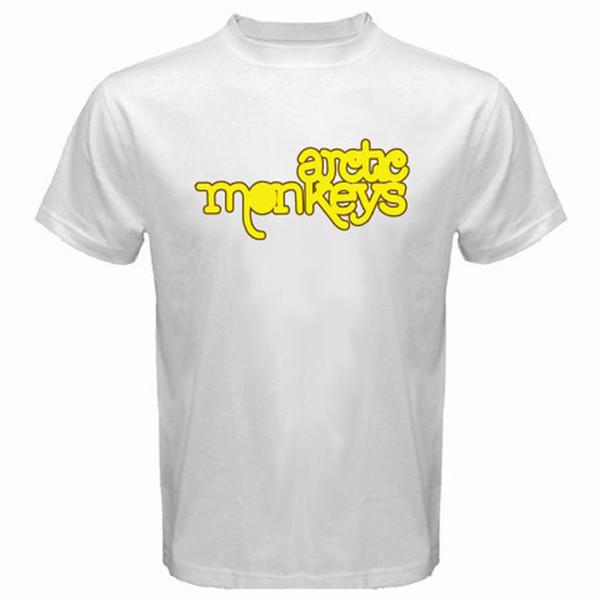 New Arctic Monkeys AM Álbum Banda de Rock Dos Homens T-Shirt Branco S M L XL 2XL T-Shirt Casual Homem Tees