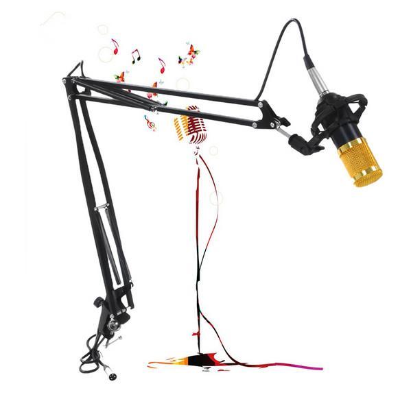 Professionelle Metall Suspension Scissor Arm verstellbare Mikrofon Ständer Halter für die Montage auf PC Laptop Notebook