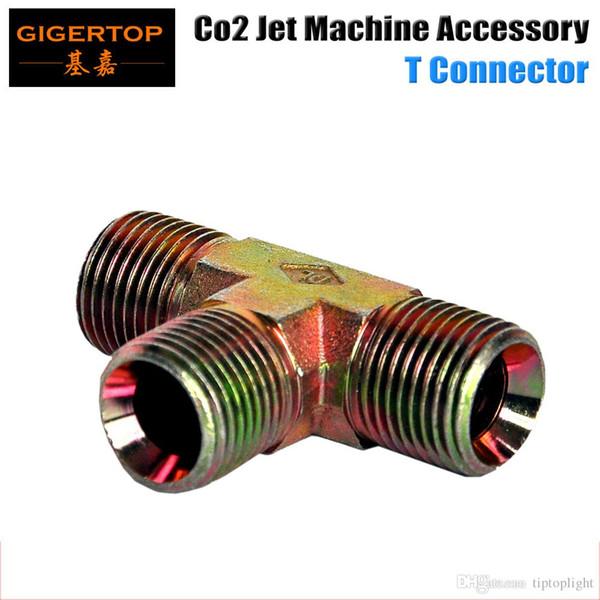 Разъем T для струйной СО2 от TIPTOP, двухсторонний разветвитель для пистолета СО2