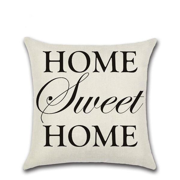 BZ145 Luxury English Letter Cushion Cover Pillow Case Home Textiles supplies decorative throw pillows chair seat