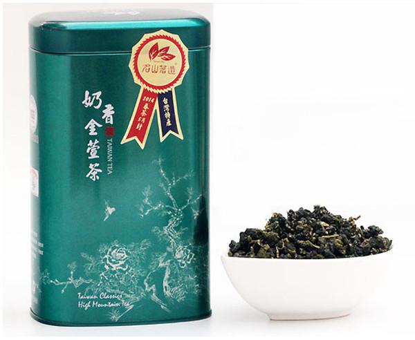 300g SGS CERT. Leite Oolong Chá Taiwan nai xiang jin xuan alimentos orgânicos atacado OT-043