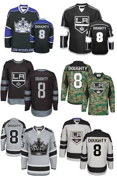 best service f98a4 2c890 2019 2016 New Drew Doughty Jersey Alternate Mens LA Los Angeles Kings 8  Drew Doughty Black White Stadium Series Embroidery Hockey Jerseys From  Since, ...