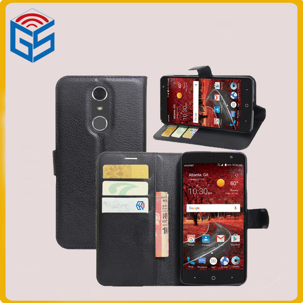 top quality various color flip cover pu leather case for zte grand x 4 x4 z956 free shipping