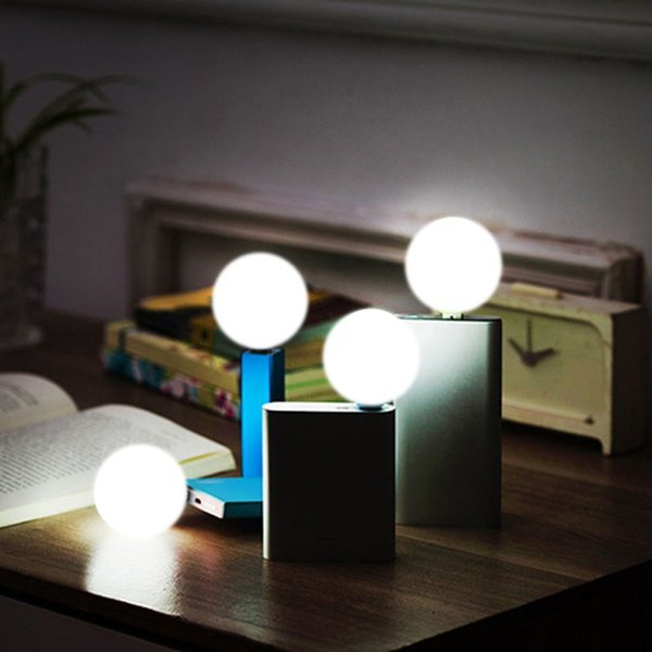 Wholesale- Computer Accessories Mini USB LED Light Bulb Computer Lamp For Notebook PC Laptop Reading Small New