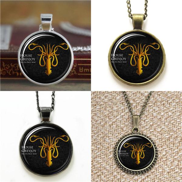 10pcs House reyjor Game of thrones Barratheon Sigil Glass Necklace keyring bookmark cufflink earring bracelet