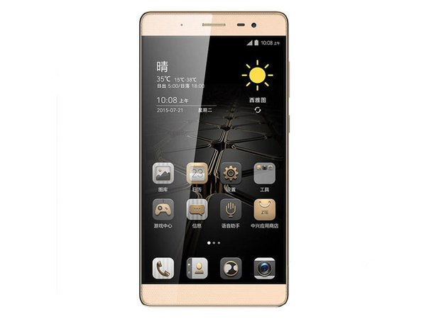 "Original ZTE Axon Max C2016 4G LTE Mobile Phone 3GB RAM 32GB ROM Snapdragon 617 Octa Core 6.0"" 2.5D Glass 16.0MP Fingerprint OTG Cell Phone"