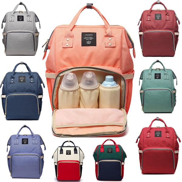 3d17ff7d5 14 Colors New Multifunctional Baby Diaper Backpack Mommy Changing Bag Mummy  Backpack Nappy Mother Maternity Backpacks