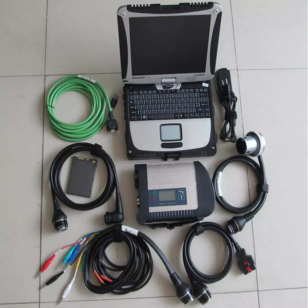 MB Star C4 + SSD + CF-19 Laptop