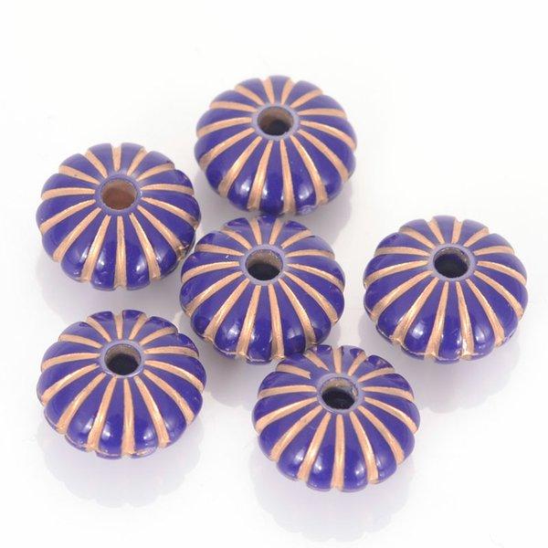 Violett mit Gold-