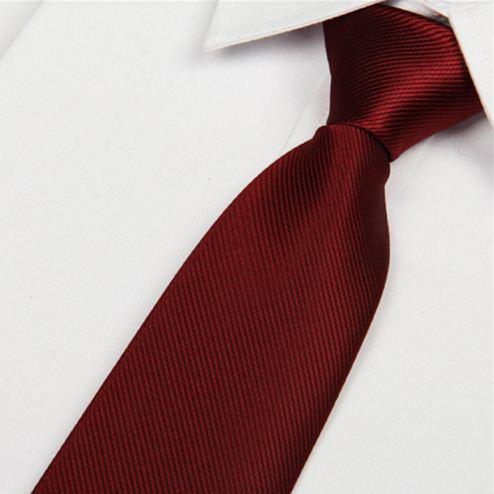 New 8cm Wine red silk tie men's microfiber neckties fashion gravata neck ties free shipping atacado