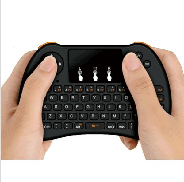 Air mouse Remote control H9 mini Wireless Game Handle Touchpad Keyboard and Mouse for Android Projector All-in-one PC Smart TV Boxes MXQ T95