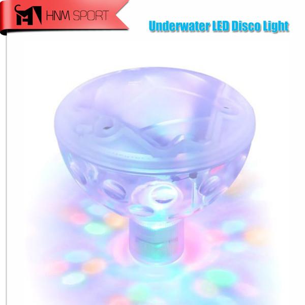 Großhandel-5 Leuchtmodi Schwimmbad wasserdicht langlebig Flash schwimmende LED-Lampe Bad dekoratives Licht bunte Baby Pool Whirlpool Birne