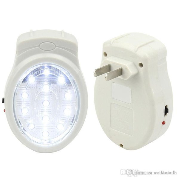 Luz de emergencia en el hogar recargable Luz de emergencia Falla de la lámpara Lámpara US Plug 110-240 V E00195 ONET