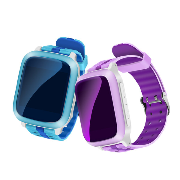 Wholesale- Anti Lost GPS Tracker Watch For Kids SOS Emergency Smart Mobile Phone App For IOS Android Smartwatch Wristband Alarm