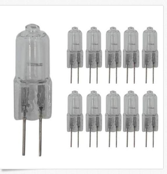 Bombillas G4 de 10W y 20W G4 12V JC Bombillas halógenas Lámparas de 10 vatios 20 vatios