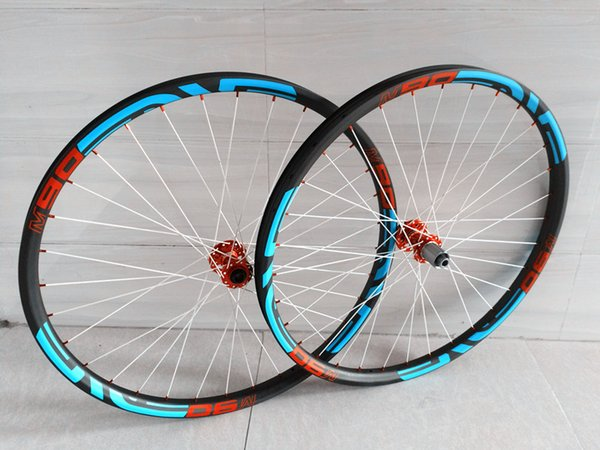 29ER 27.5er 650B carbon mtb wheels tubeless 142x12 rear axle and 15x100 front axle bicycle wheels MTB 29er