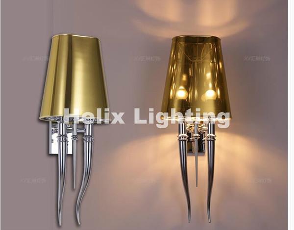 Modern Chrome LED Wall Lamp For Bathroom Bedroom Wall Sconce Indoor Lighting Lamp AC 90-260V LED Wall Lighting Free Shipping
