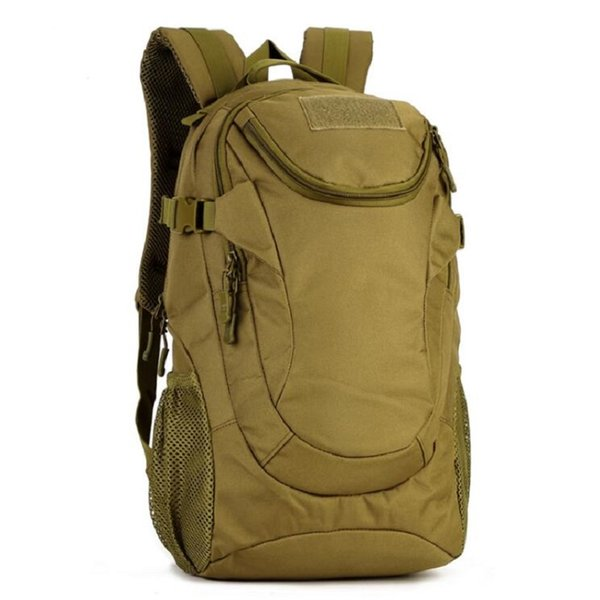 Wholesale 25L Tactical Waterproof Mountaineering Travel Laptop Women Backpack Male Camouflage Lightweight Hike Camp Backpack Free Shipping