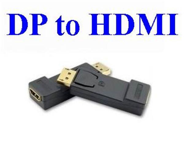 Erkek DisplayPort Ekran Portu DP Kadın HDMI Dönüştürücü kafa F / M Kablo 1080 p HDTV PC Dönüştürücü kafa Adaptörü Için * 500 ADET / GRUP