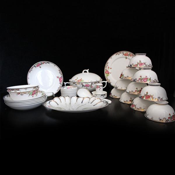 Dinner set / Tableware/ceramic/porcelain/Korean/50pieces fine bone China/ & Dinner Set / Tableware/Ceramic/Porcelain/Korean/Fine Bone China ...