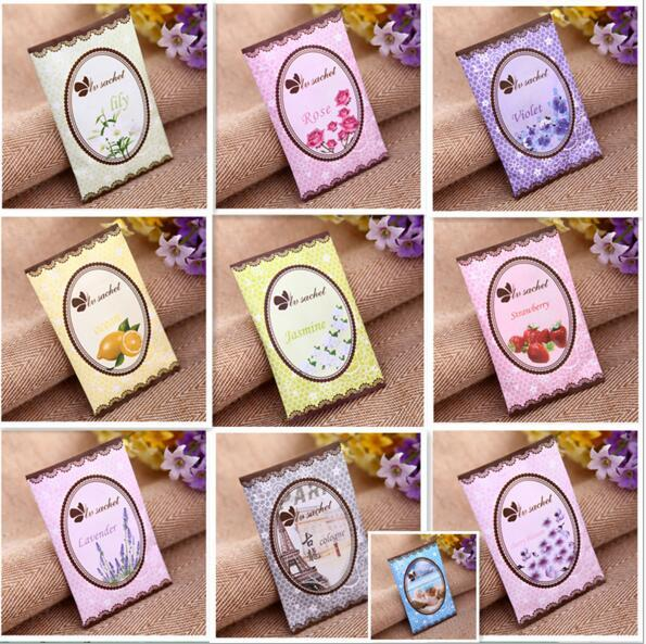 Natural Air Freshener Multi Functional Sachet for Homes Car Mini Scent Bag Different Fragrances Free Shipping Wholesale Price
