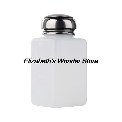 Großhandels- 1pc heiße neueste 200ml leere Pumpe Dispenser Nagellack flüssige Alkohol-Entferner-Reiniger-Flasche