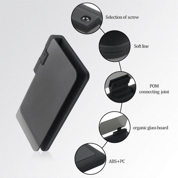 Car HUD Head Up Display Mobile Phone GPS Navigation Bracket Car Mount stand GPS Phone Holder Safe Adsorption for Smartphone