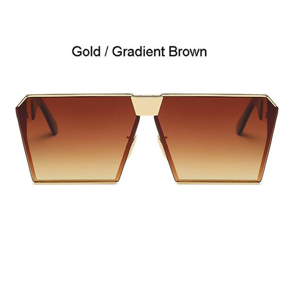Cadre doré Gradient Brown