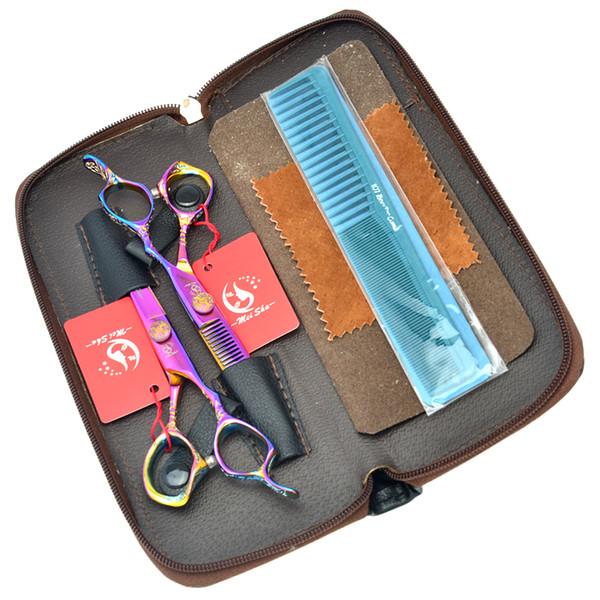 6.0Inch Meisha 62HRC Hair Cutting & Thinning Scissors Professional Hairdressing Scissors JP440C Salon Tool Best Hair Shears,HA0225