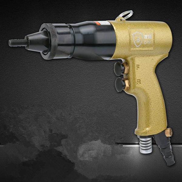 Pneumatic Nut Riveter Tools for Pulling Nuts M5 M6 M8 M10 Pneumatic Air Industrial Nut Rivet Pull Pliers Gun Rivet Riveting Tool