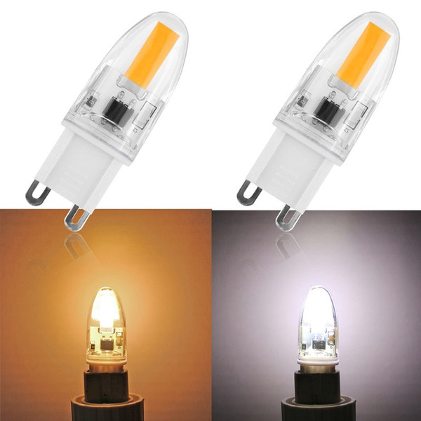 6W G9 LED Lamp Bulb Dimmable AC 220V Led Lights For Home COB 1505 Cool/Warm White