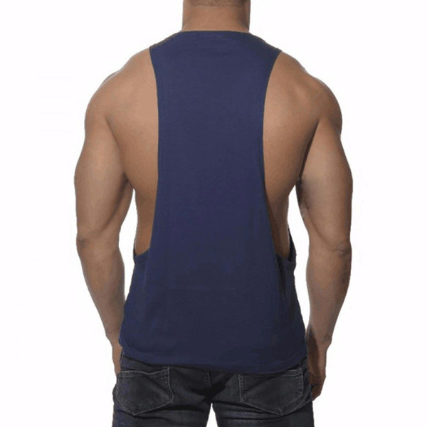Wholesale- New Men's Vivid Tank Tops Low Cut Armholes Vest Sexy Tank Xman Muscle Man's Suit Vest Singlet Shirt W1