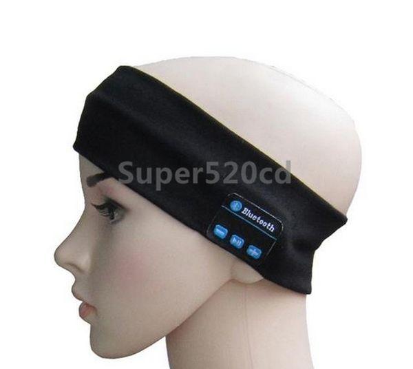 Wireless Bluetooth Music Headband Magic Earphone MIC Hat Unisex Hands Sports Headwarp Phone Call Answer Ear free Hairband Z305