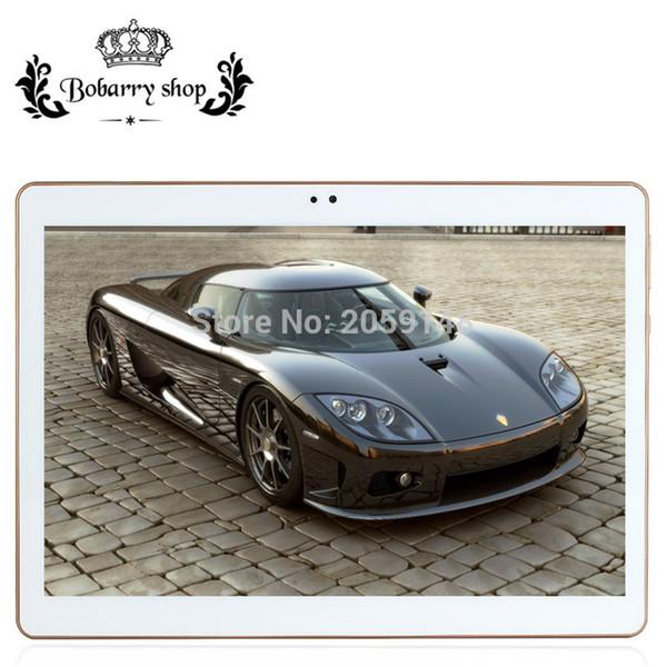 Vente en gros - Tablettes 10.1 pouces Dual Core / Caméra 4G LET appelez tablette Android 5.1 4GB / 128GB GPS Bluetooth WIFI tablet pc