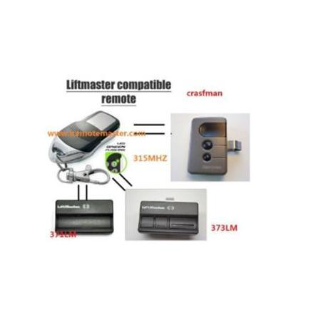 For Liftmaster Security+ 371LM Garage Door Opener Compatible Remote Transmitter 315MHZ