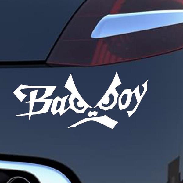 15.6*6.3CM English Alphabet Bad Boy Creative Personality Funny Eyes Car Styling Fashion Vinyl Car Stickers Decals