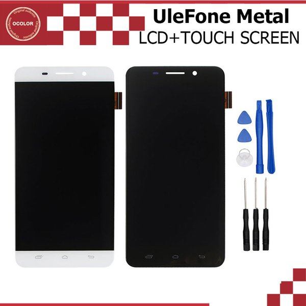 Großhandels-UleFone Metall-LCD-Display und Touch Screen Assembly Reparatur Teil 5.0 Zoll Mobile für UleFone Metall Android 6.0 MTK6753 Octa Core