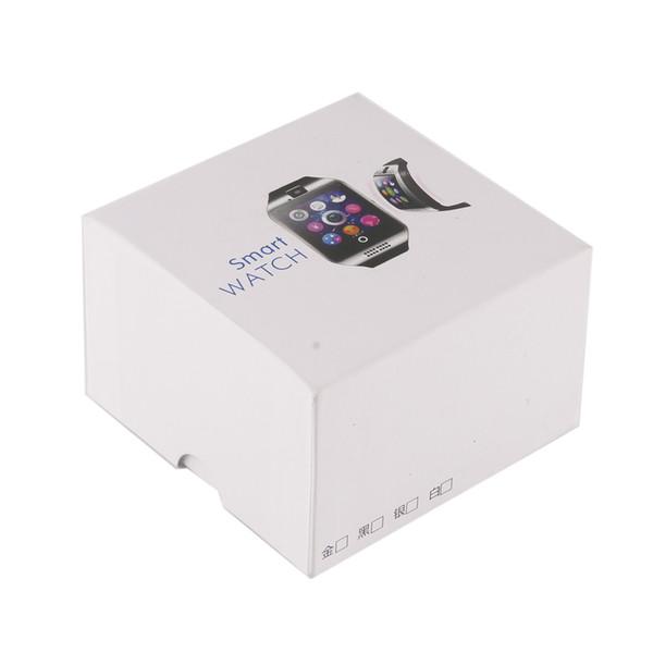 Q18 smart watch relógios bluetooth smartwatch relógio de Pulso com Câmera TF Slot Para Cartão SIM / Pedômetro / Anti-lost / para apple android telefones 2019