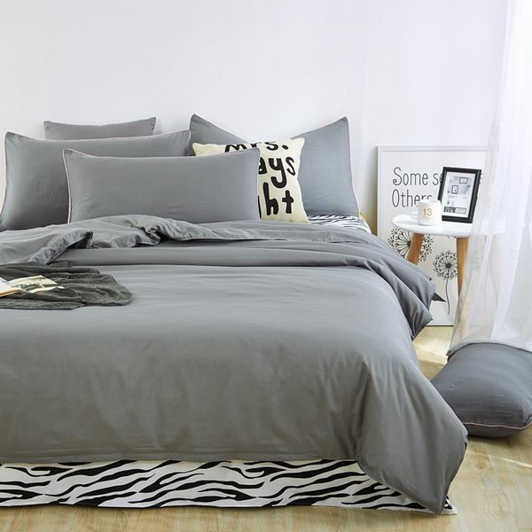 Wholesale- Unihome zerba 300 Thread Count Egyptian Quality Duvet Cover Set Luxury Soft, All Sizes & Colors, Full/Queen