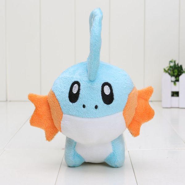 20pcs 15cm Pikachu Cute Blue Mudkip Plush Toy Soft Stuffed Animals Dolls for children
