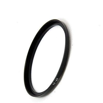 Wholesale- Wholesale 10pcs 77mm to 82mm 77-82 77 to 82 Lens Stepping Step Up Filter Ring Adapter