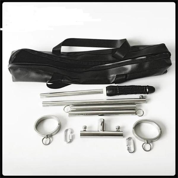 Newest Bondage BDSM devices sets handcuffs shackles ankle dildo sex furniture toy