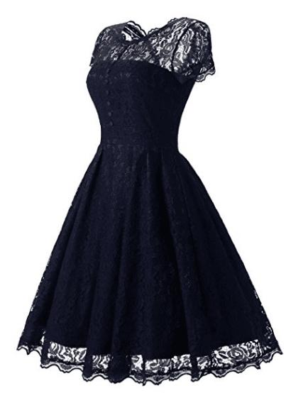 Lace knee-length Short Bridesmaids Dresses Empire Pleats Chiffon Long Plus Size Maid Of Honor Wedding Party Dress