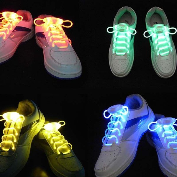 Led shoelaces 1Pr light up kids disco vacation CANADA