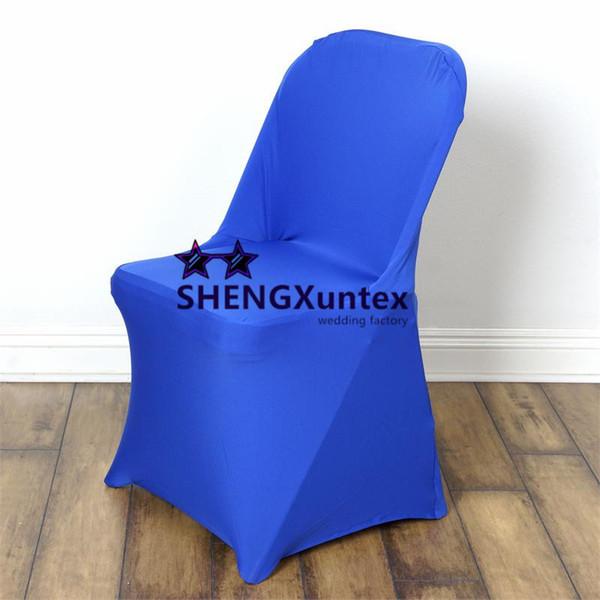 Copertura pieghevole della sedia dell'elastam del lycra di nozze e del partito per la decorazione