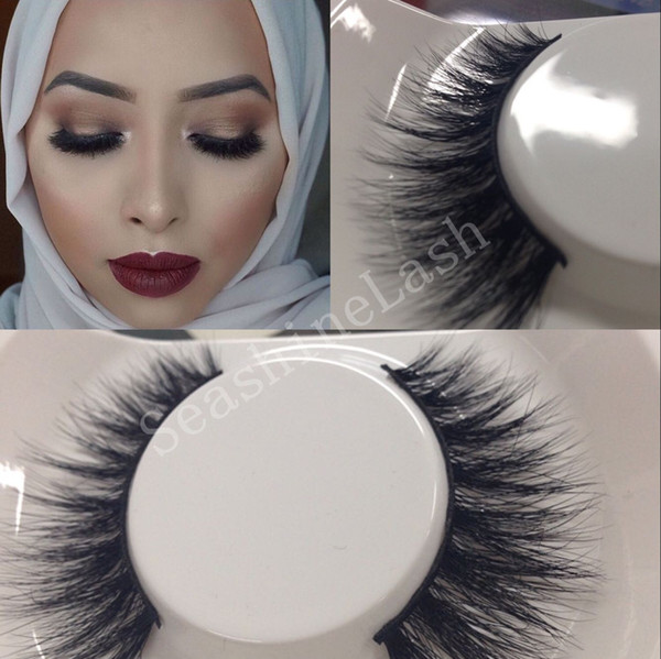 100 Handmade 3d Mink Hair Thick Long False Mink Eyelashes Fake Eye