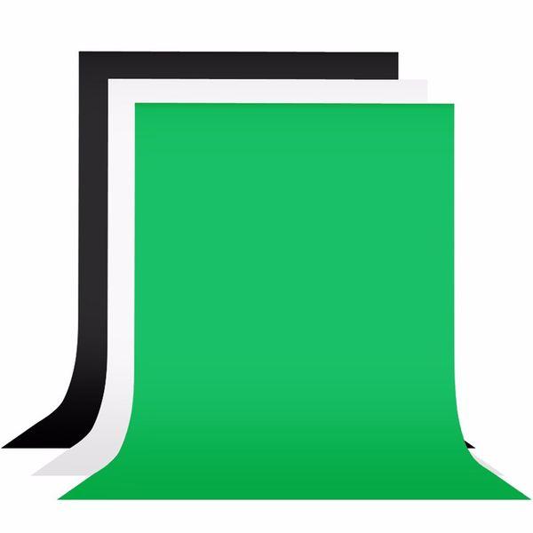 1.8x3 m preto branco tela verde 100% algodão fundo fotografia cenário fotográfico para estúdio foto prop